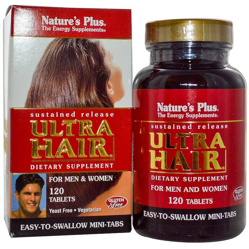 Nature's Plus Ultra Hair Sustained Release Dietary Supplement - 120 Tablets