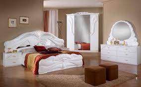 chambre a coucher blanc chambre simona nkl meuble wassa et deco