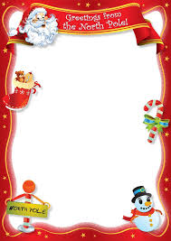 The 25 best Letter from santa template ideas on Pinterest