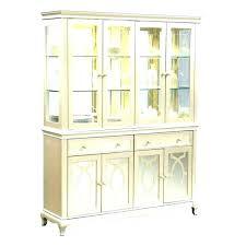 Corner Hutch Dining Room White Buffet Cabinet