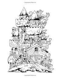 Amazon Doodle Invasion Zifflins Coloring Book Volume 1 9781492977056