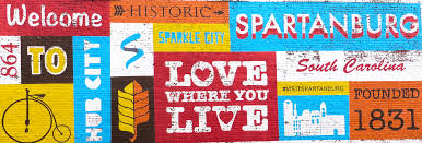 spartanburg area chamber of commerce where you live card