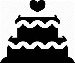 cake engagement fiance fiancé marriage party wedding icon