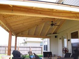 Stylish Patio Roof Plans Wood Patio Covers Patio With
