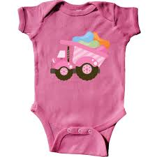 Inktastic Easter Jelly Bean Dump Truck Infant Bodysuit Holiday ...