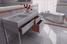 waschtischkonsolen zu händen badezimmer modern vintage