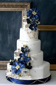 Pin Navy Blue Wedding Cake On Pinterest