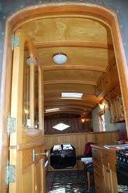 1959 Federal Truck With A Custom Trailer Camper Has Beautifully Designed And Crafted Interior Cabinets