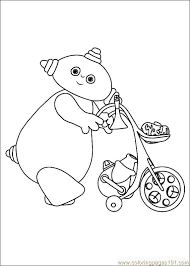 Coloring Pages In The Night Garden 11 Others