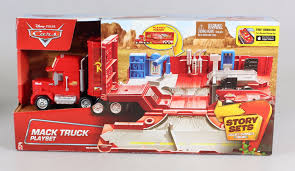 100 Cars Mack Truck Playset Disney Pixar Core System Transporter By Disney Shop