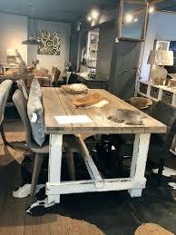 240x100 tisch esstisch shabby chic landhaus echtholz pinie weiß