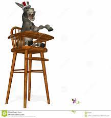 100 Kangaroo High Chair Political Party Tantrum 1 Stock Illustration Illustration Of