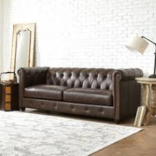 Decoro Leather Sofa With Hardwood Frame by Complement All The Wood And Metal Of An Industrial Space With A