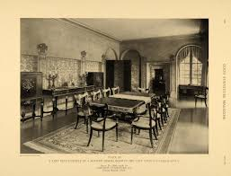 1921 Print Louis XVI Furniture Johnson Dining Room MI