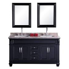 Design Element DEC059C Hudson 61-inch Bathroom Vanity Set In ... Design Element Milan 24 Bathroom Vanity Espresso Free Shipping 78 Ldon Double Sink White Dec088 36 Single Set In Galatian 88 With Porcelain Stanton 72 W Vessel Inch Drawers On The Open Bottom Dec074sw Citrus 48inch Solid Wood W X 22 D 61 Gray Marble Hudson 34 H