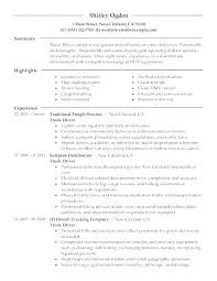 Sample Resume Truck Driver Dispatcher With For Produce Awesome Samples Highschool Students Objectives 496