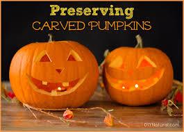 Ways To Make A Pumpkin Last Longer by Preserving Carved Pumpkins
