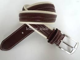 men cloth accessories canvas belt casual jean belts 100 cow