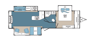 Travel Trailer Floor Plans With Bunk Beds by Denali Rv Floorplans And Pictures