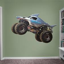 Megalodon - Huge Officially Licensed Monster Jam Removable Wall ...