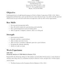 Resume Of A Banker Sample For Bankers Download Banking Executive Business