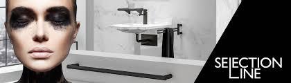 badezimmer design und brausestangen schwarz matt erlau