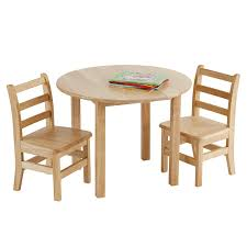 ECR4Kids 30-Inch Round Natural Hardwood Table, 22-Inch Height With Two  12-Inch Chairs, 3-Piece Set, Kids' Furniture, Children's Solid Wood Table  And ... West Starter 4 Seater Ding Set Kruzo Florence Extendable Folding Table With Chairs Fniture World Sheesham Wooden 3 1 Bench Home Room Honey Finish 20 Chair Pictures Download Free Images On Unsplash Delta Children Mickey Mouse Childs And Julian Coffe Steel 2x4 Full 9 Steps Hilltop Garden Centre Coventry Specialists Glamorous Small Tables For 2 White Customized Carousell Table Glass Wooden Ding Set 6 Online Street
