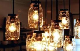 Mason Jar Light Fixtures Mason Jar Rustic Pallet Light Fixture Diy