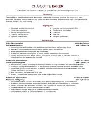 Samples Of Resumes For Customer Service Resume