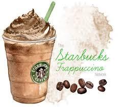 Starbucks Coffee Drawing Frappucino
