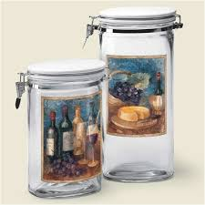 Set Contemporary Kitchen Wine Canisters 174 Best Images About Chef Winery Decor On