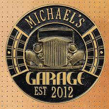 Car Personalized Garage Sign