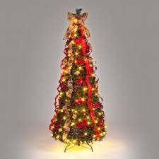 6ft Slim Christmas Tree With Lights by Stylish Pop Up Christmas Tree With Lights Ravishing 6ft Slim White