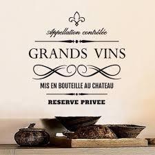 cuisine vins stickers cuisine vin achat vente pas cher