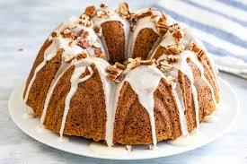Pumpkin Shaped Cake Bundt Pan by Pumpkin Bundt Cake With Maple Glaze Plated Cravings