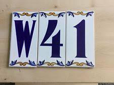 capital products ornate cast alum address frame for ceramic house