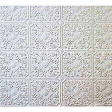 small ceiling tile raised white textured paintable wallpaper 497