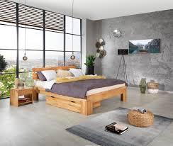 futonbett echtholz massiv 140x200 malu eiche geölt