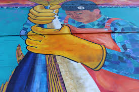 Chicano Park Murals Restoration by The Kelco Historical Community Mural Restoration San Diego