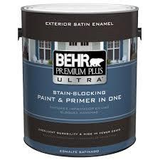 behr premium plus ultra 1 gal ultra pure white satin enamel
