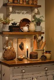 The Olde Weeping Cedar Primitive Country Kitchen Find This Pin And More On Antique Decorating