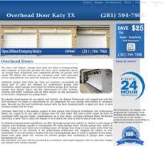 Overhead Door Katy Tx pany Profile