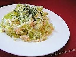 cuisiner le chou blanc en salade salade facile rapide recette recettes ukrainienne polonaise russes