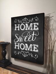 Home Sweet Sign Inspirational Quote Family Signs Wall Hanging Art Housewarming Gift Decor