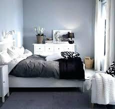 schlafzimmer blau zimmer gestalten graue wand