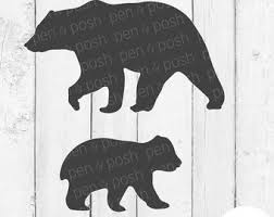 Grizzly Bear Silhouette Clip Art Download Free Versions Of The