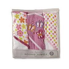 baby bathing safety hooded towels kmart