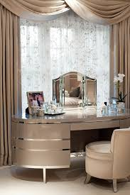 Bedroom Ideas Curtains Modern Beige Dressing Table