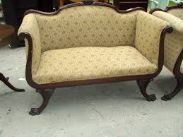 Claremore Antique Sofa And Loveseat by New Ideas Antique Sofa With Scarletts Antiques Antique Sofa