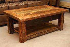Modern Rustic Coffee Tables S Diy Table Pertaining To Designs 11